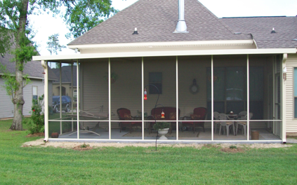 Screen Rooms. Can Be Installed Under Existing Roof Or Patio Cover ...